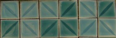 pool tiles 1960s Roman spa classic