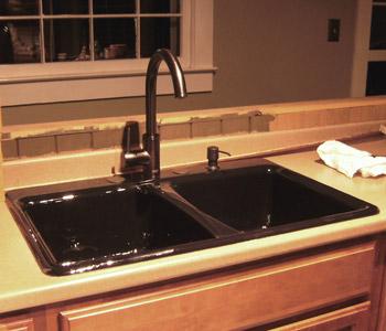 Brown Kitchen Sink All the good kitchen sink jokes were taken flying by night sink workwithnaturefo