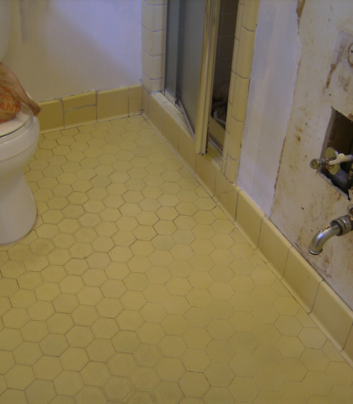 Thank goodness for fall flying by night for Fall in shower floor
