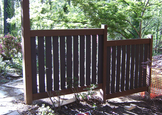 fence sections design