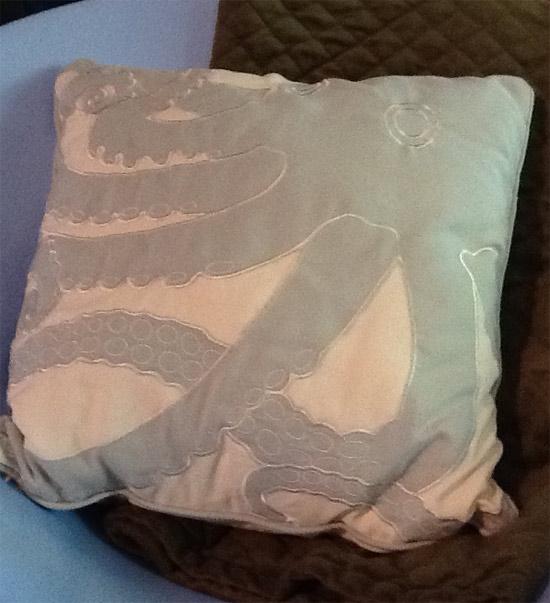 octopus throw pillow throwpillow